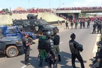 Marche du FNDC : risque d'accrochage entre manifestants forces de l'ordre