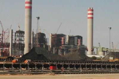 Medupi Power Station coal yard in 2014.