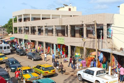 Serekunda Market, Gambia