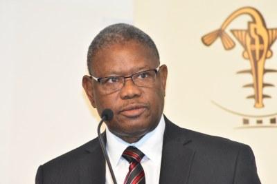 M. Norbert Toé, vice-gouverneur de la Banque Centrale des Etats de l'Afrique de l'Ouest (Bceao)