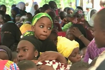 Cameroon school children