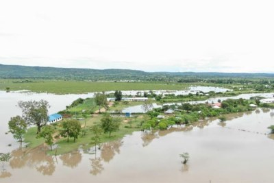 Huge sections of Nyatike in Migori County have been flooded following heavy rains (file photo).