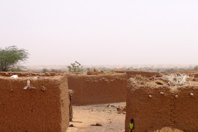 A village in the Sahel.