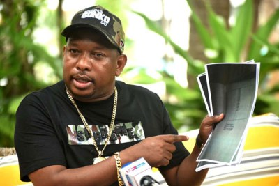Nairobi Governor Mike Sonko (file photo).