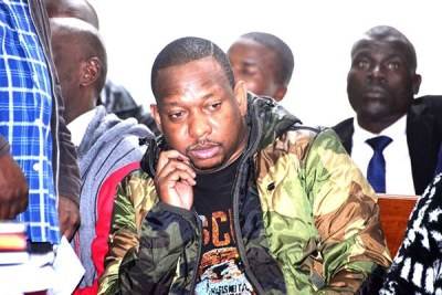 Nairobi Governor Mike Sonko at Milimani Law Courts on December 9.