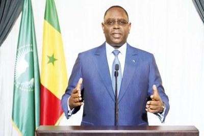 Le président Macky Sall