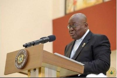 President Nana Addo Akufo-Addo (file photo).