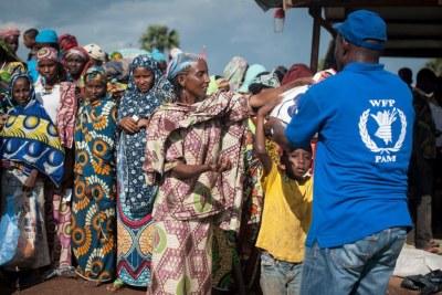 Le Programme alimentaire mondial (PAM) est l'une des agences humanitaires de l'ONU qui interviennent en RCA.