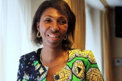 Jeanine Mabunda Lioko, présidente de l'Assemblée nationale de la RDC.