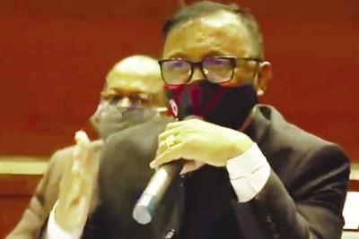 Assemblée nationale: Le Général Ravalomanana n'a pas maché ses mots à l'endroit des députés.