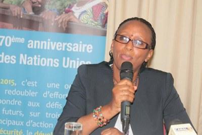 Dr Triphonie Nkurunziza, Représentante résidante de l'OMS en Guinée équatoriale a été priée de quitter Malabo.
