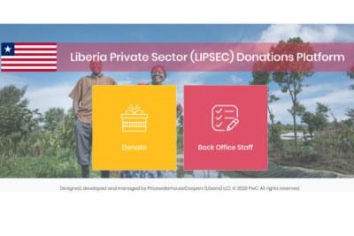 Liberia Private Sector (LIPSEC) Donations Platform