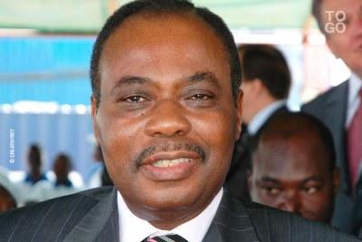 Edem Kodjo en 2005 à Lomé