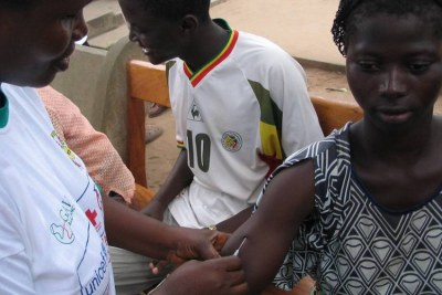 Une campagne de vaccination en Afrique.
