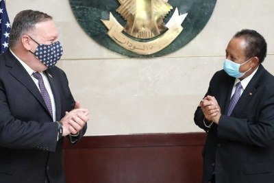 U.S. Secretary of State Mike Pompeo flew from Israel to negotiate with Prime Minister Abdalla Hamdok of Sudan in Khartoum during August.