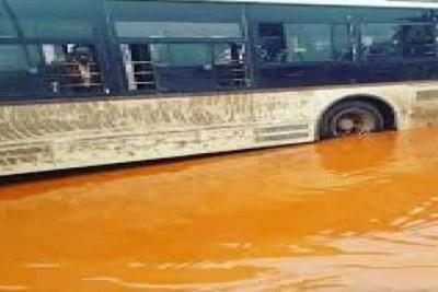Inondations à Dakar