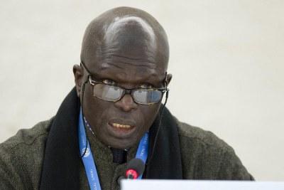 Doudou Diène, le Président de la Commission d'enquête de l'ONU sur le Burundi. (archive)