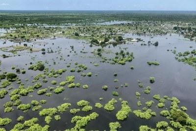 Inondations dans la région du Grand Pibor.