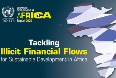 UNCTAD Twitter image to illustrate the release of their Economic Development in Africa Report for 2020.