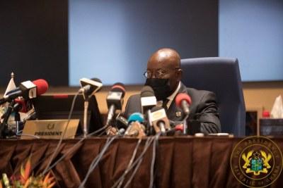 Nana Akufo-Addo, Président en exercice de la Conférence des Chefs d'État de la CEDEAO
