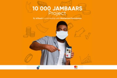 Mastercard Foundation has partnered with InTouch to support their 10,000 Jambaars project, which will deploy a network of 10,000 agents to provide digital services across the continent, most of whom will be young people and, particularly, young women.