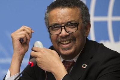 Dr. Tedros Adhanom Ghebreyesus, Director-General, World Health Organization