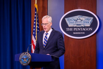 Acting U.S. Defense Secretary & Africom Chief Visit Mogadishu