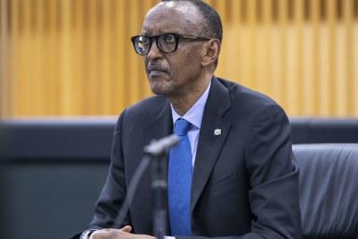 Président du Rwanda Paul Kagame