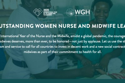 Nigerian women have been recognized among the nominees for the 100 Outstanding Women Nurses, Midwives, and Leaders by the Women in Global Health for their pivotal role in providing health services in difficult times.