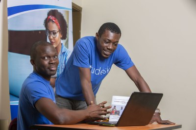 Etudesk, an Ivorian e-learning platform and startup that enables academic institutions and businesses create their training programs online.