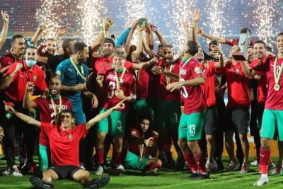Le Maroc, champion du CHAN 2021