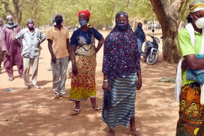 World Food Programme (WFP) food distribution in Kaya, Burkina Faso (file photo).