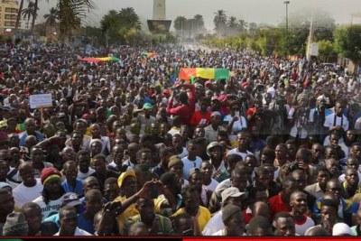 Appel à une marche de l'opposition au Sénégal