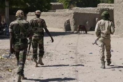 Des militaires nigériens dans le Tillabéry. (Image d'illustration)