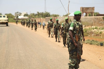 Soldats éthiopiens.