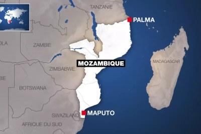La ville de Palma est située dans le nord-est du Mozambique et seulement à dix kilomètres du mégaprojet gazier piloté par le groupe français Total.