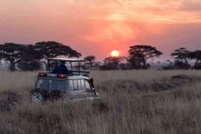 Tourists in Serengeti, Tanzania (file photo).