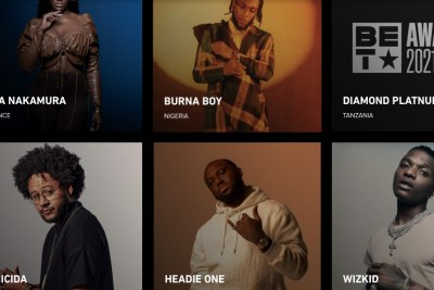 Three African artists nominated for BET award
