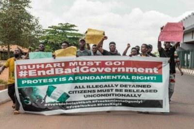 Nigeria Democracy Day protests