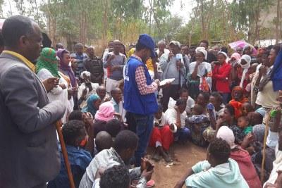 Des dizaines de milliers de personnes sont déplacées dans la région du Tigré, en Ethiopie.