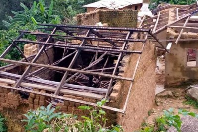 New research by Amnesty International has revealed the devastating scale of destruction caused by the ongoing conflict in Cameroon's Anglophone regions (file photo).