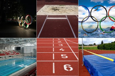 Olympic events (file photo).