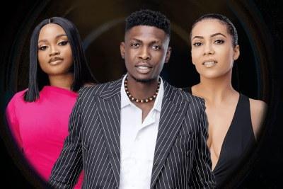 Maria, JMK, Sammie evicted from Shine Ya Eyes Big Brother Naija.